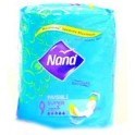 NANA SERVIETTE HYGIENE SUPER INVISIBLE 3 MM X9