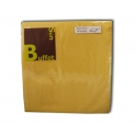 SOFT BUFFET NAPKINS YELLOW 2-L 38x38 CM 30PCS