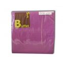 SOFT BUFFET NAPKINS PLUM 2-L 38x38 CM 30PCS