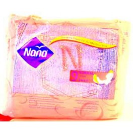 NANA SERVIETTE HYGIENE JEANS NORMAL 7 MM X9
