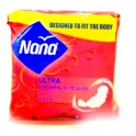 NANA SERVIETTE HYGIENE ULTRA NORMAL 2 MM X8