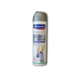 HANSAPLAST FOOT EXPERT SILVER ACTIVE ANTI-TRANSPIRANT 150ML