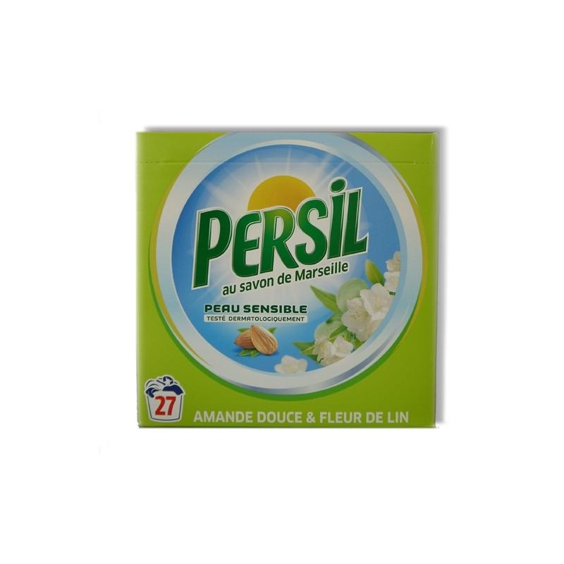 PERSIL WASPOEDER MET MARSEILLE ZEEP MET AMANDEL 27SC. 1,89KG