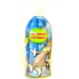 BAIN MOUSSANT TOM & JERRY 1000 ML MELOEN