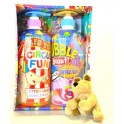 KIDS BUBBLE BATH SET BOYS BLUE 2X710 ML