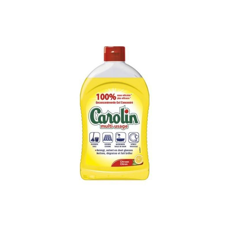 CAROLIN GEL MULTI GEBRUIK CITROEN 500ML