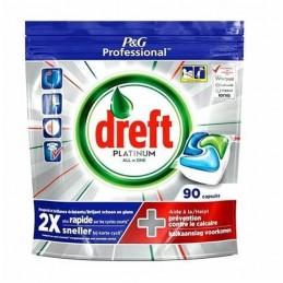 DREFT CAPS VAISSELLE PLATINUM ALL-IN-ONE 90 CAPS