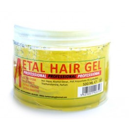 METAL GEL CHEVEUX 500 ML PROFESSIONNEL EXTRA FORT