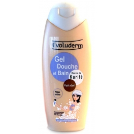 EVOLUDERM DOUCHE GEL KARITE 400 ML