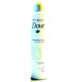 DOVE DEODORANT 200 ML INVISIBLE DRY