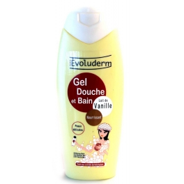 EVOLUDERM DOUCHE GEL VANILLE 400 ML