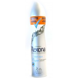 REXONA DEOSPRAY 250 ML CRYSTAL CLEAR AQUA