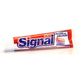 SIGNAL TANDPASTA FLUOR & CALCIUM 125 ML
