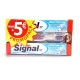 SIGNAL DENTIFRICE X2 ANTI-CARIES 75ML+ BROSSE A DENTS MEDIUM AIR