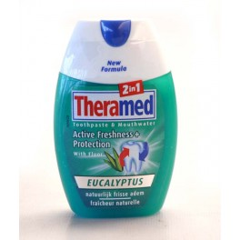 THERAMED DENTIFRICE 2 EN 1 EUCALYPTUS 75 ML