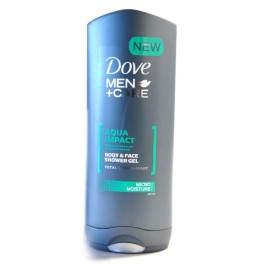 DOVE DOUCHE MEN+ CARE AQUA IMPACT 400 ML