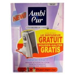 AMBI PUR DIFFUSEUR ELECTRIQUE FLEUR DE COTON + RECHARGE